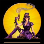 • Steampunk Pin-up / Logo Illustration